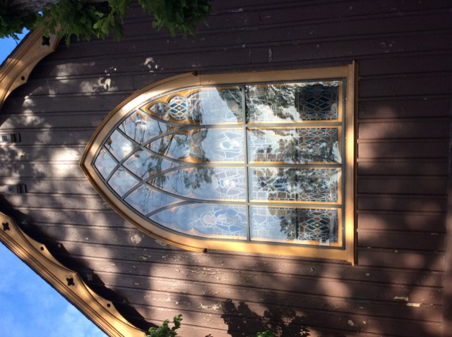 Stained glass protective covering